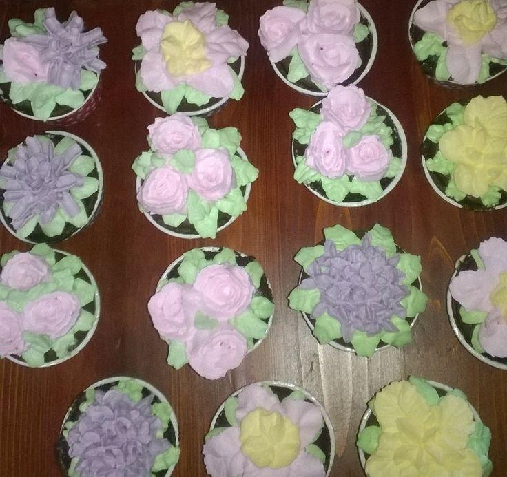Afican choco cupcake