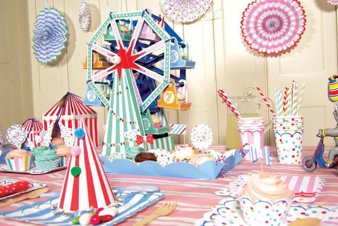 Inspirada en el mundo del circo