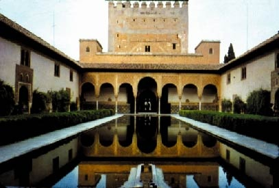 Alhumbra Palace - Granada, Spain was here and have to say was one of the most beautiful places I've ever seen.