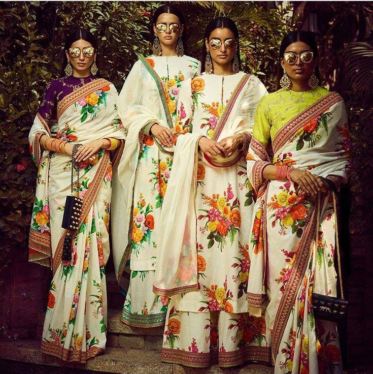 d179a7e26da02f08aabd242b900f07ce - bridesmaids saree style