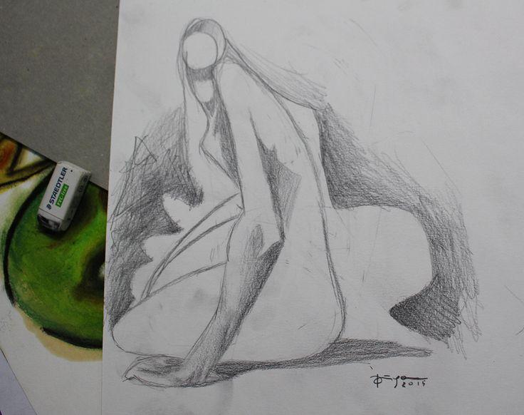 Estudos. Grafite.  Diego Oliveira