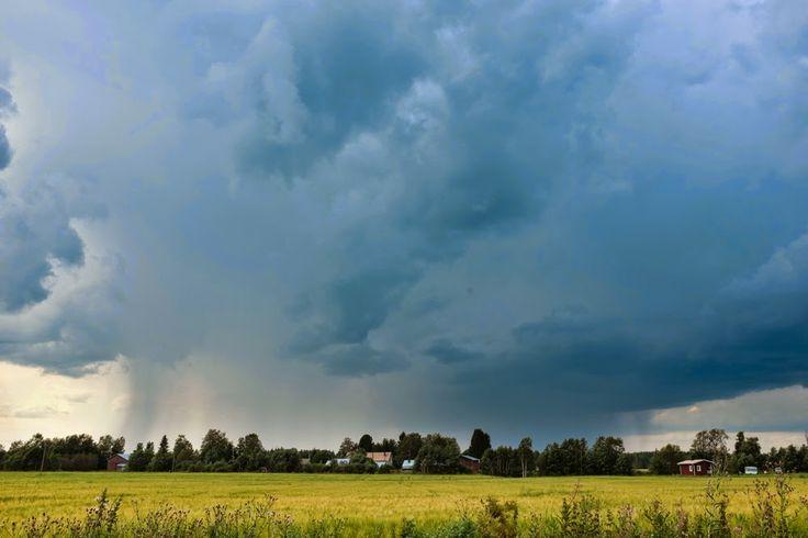 Rising of Thunder storm, Finland, by Heikki Rantala