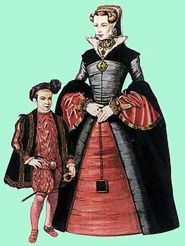 Английский придворный костюм эпохи возрождения
