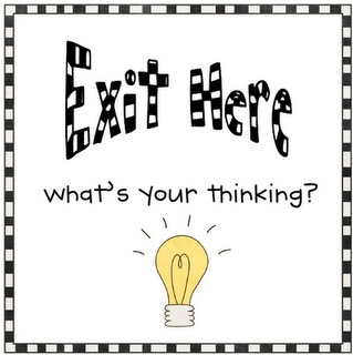 Best Exit Tickets The New What I Learned Today Images On