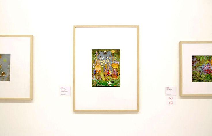 Guillermo Mordillo gerahmt in HALBE Rahmen in der Ludwiggalerie #bilderrahmen #bilderwand #pictureframes #framedprints #framedart #art #photography #photoart #photoprints #exhibition #artexhibition #halberahmen