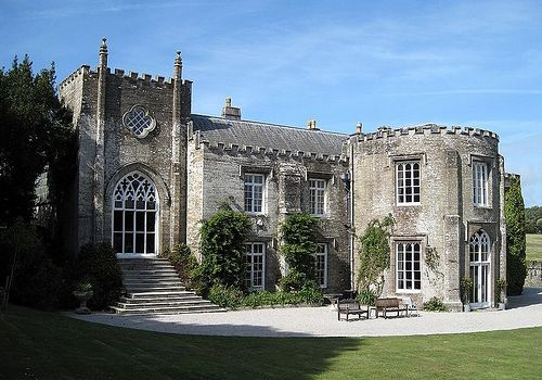 Prideaux Place Cornwall | Prideaux Place, Country House Padstow, Cornwall, Original house Built in 1592. (photo by Olaf Thusch)