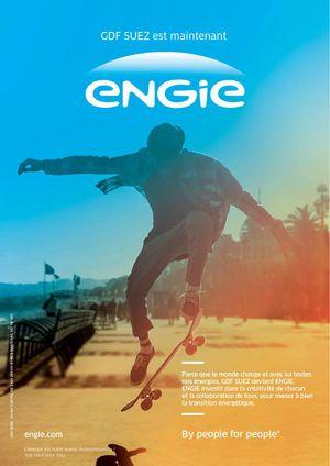 The Sun Rises on ENGIE Brand Identity | StockLogos.com #logo
