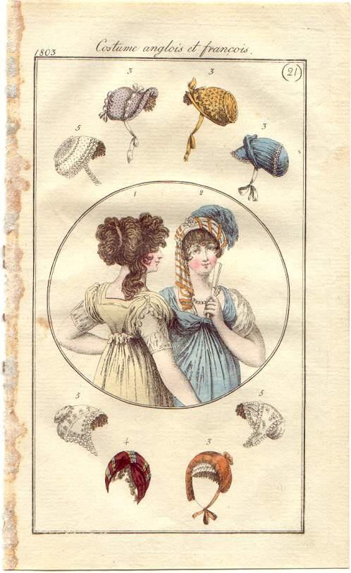 1803 (21) Costume anglois et françois