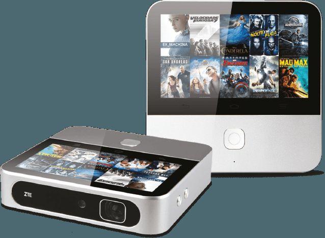 Projetor HD portátil - Vodafone Tv Net Voz