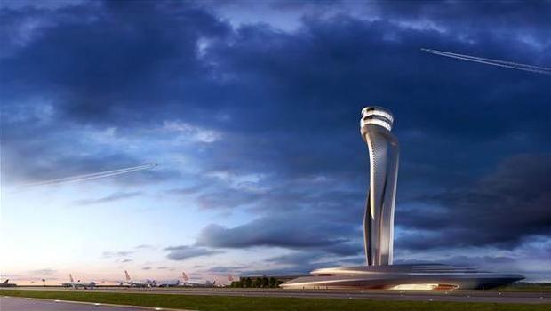 3. havalimanının kulesi belli oldu