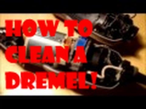 How to take apart and clean a Dremel (DIY)