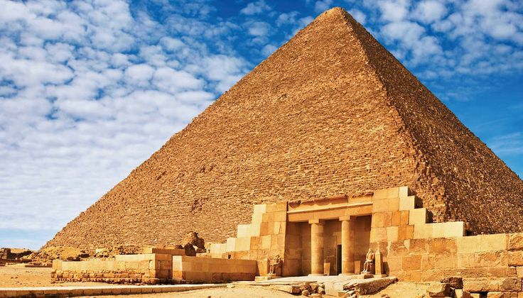 Vakantie Egypte - piramide