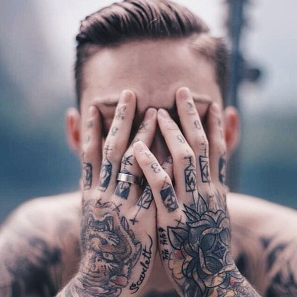 Full Hand Tattoos for Men