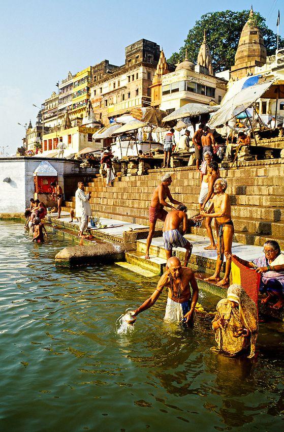 Ganges Bathing Ghats, Varanasi