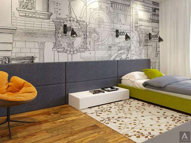 дизайн дома в современном стиле/ дизайн детской
