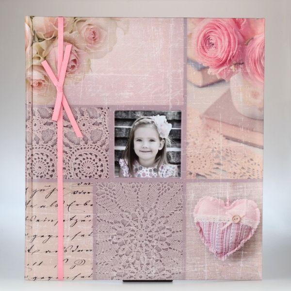 Różowy album dziecięcy
