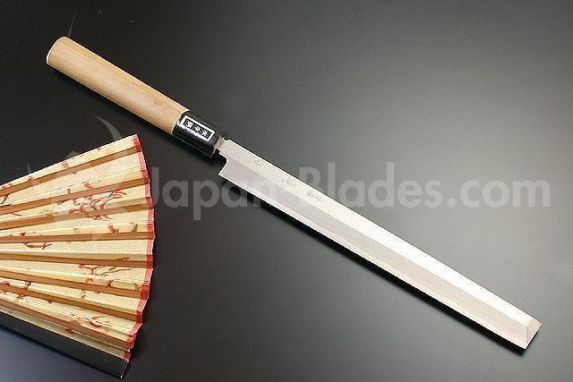 SP-G-09 Kanemasa Honsho G-series Takohiki 210mm Nu ook verkrijgbaar op www.japansemessen.nl!
