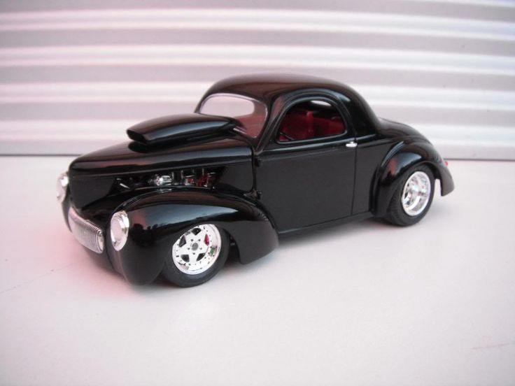 bad black willys under glass model cars magazine forum