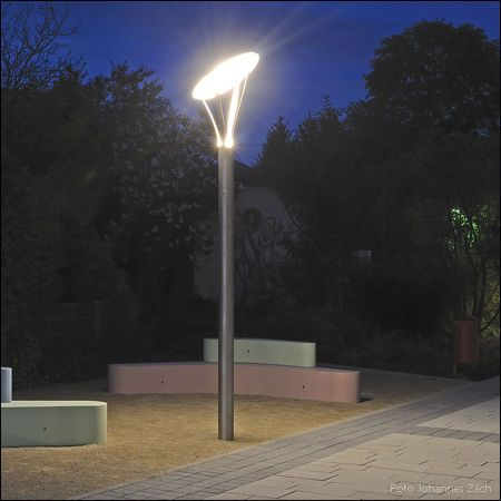 Wonderful Garden Lamp Post / Urban / Contemporary / Stainless Steel CIRCOLO : TYPE  030/510