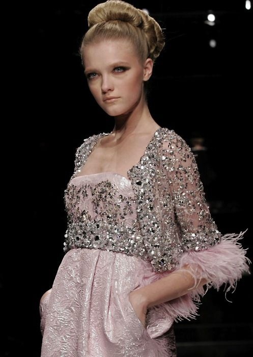 : Beautiful Inspiration, Elie Saab, Style, Details, Dresses, Sequins, Beads Jackets, Feathers, Couture Fashion