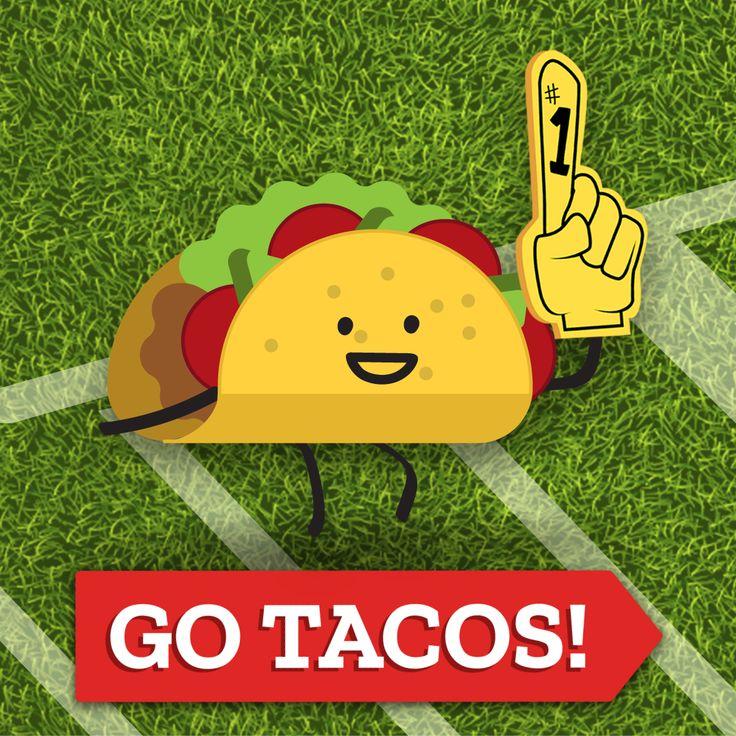#go #tacos #football #footballfood #illustration