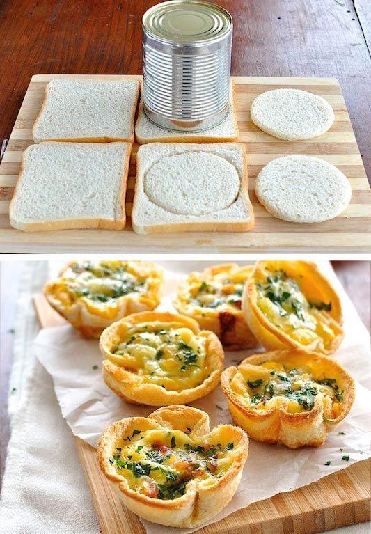 Lust auf Muffins am Morgen? Dann mach dir Toast-Muffins. Schneller kannst du gar keine Muffins machen. Damit kannst du mal Abwechslung in dein Frühstück bringen, probier's doch einfach mal aus! | unfassbar.es