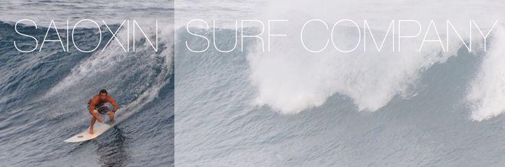 SAIOXIN - Surf Company #surf #waves #summer #clothing