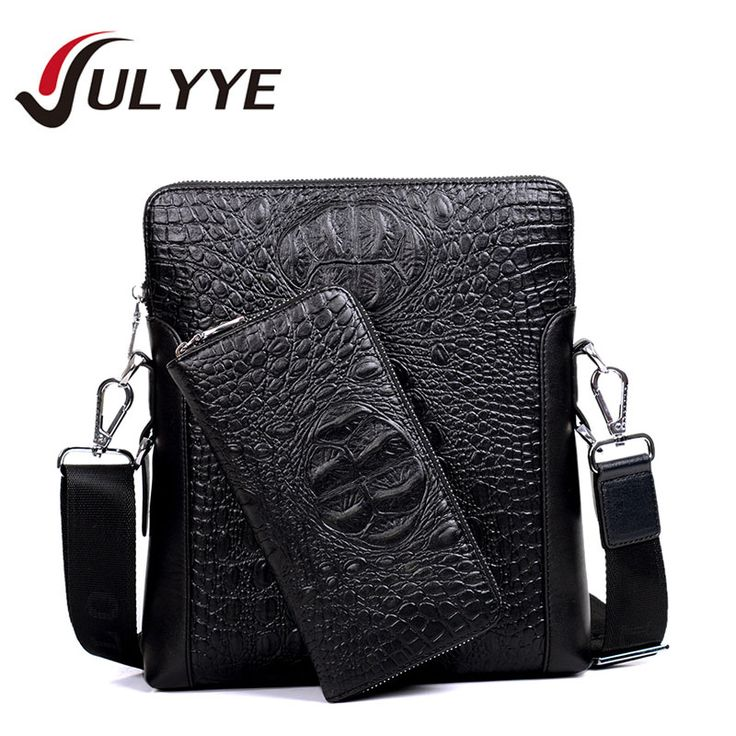 Genuine Leather Crossbody Bags Men's Messenger Bags
