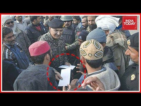 Pak Army Man Caught Distributing Cash To End Protest Against Govt India Today