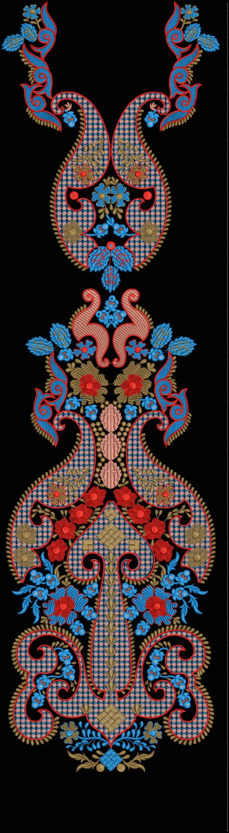 Latest Embroidery Designs For Sale, If U Want Embroidery Designs Plz Contact (Khalid Mahmood, +92-300-9406667) Design# Khushbu22