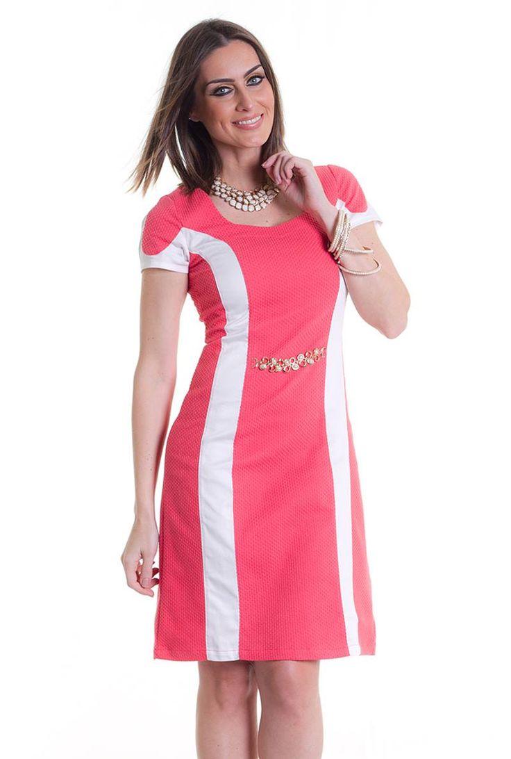Vestido Monia 10366 é na Saia Bella, Compre Moda Evangélica Online!
