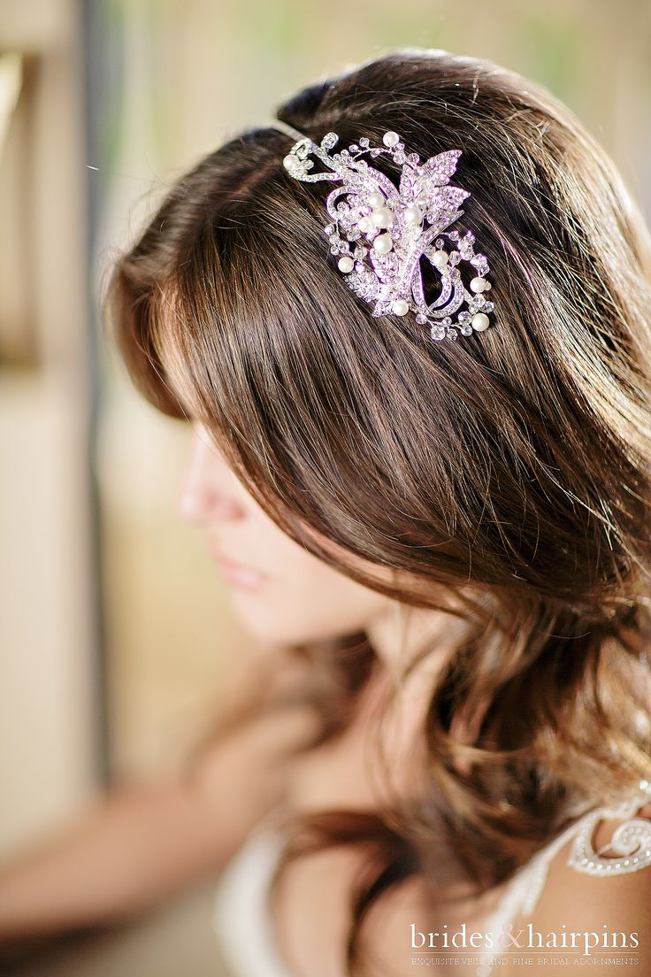Best images about Bridal Headbands on Pinterest Flower