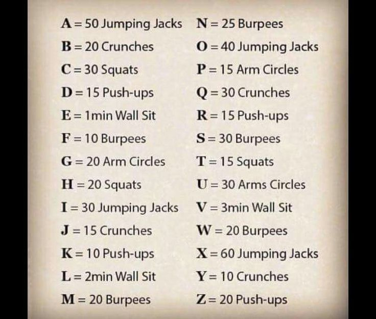 Spell Out Your Full Name For Workout This S Me As I Have Really Long Middle And Last Names