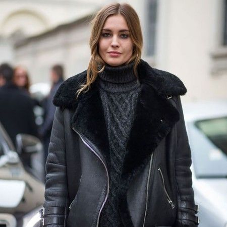Ever since Acne created their Aviator jacket we've been obsessed with the shearling style. Whether you opt for slick black or a shade of pale, these jackets are the ideal way to stay warm and fashionable.