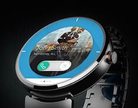 Moto 360 friendly modern concept