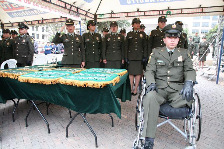 Valerosos hombres y mujeres, condecorados hoy, en la celebración de nuestro #124Aniversario