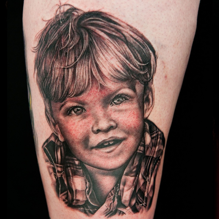 Check out this high res photo of Sarah Miller's tattoo from the Portrait episode of Season 2 of Ink Master on Spike.com.