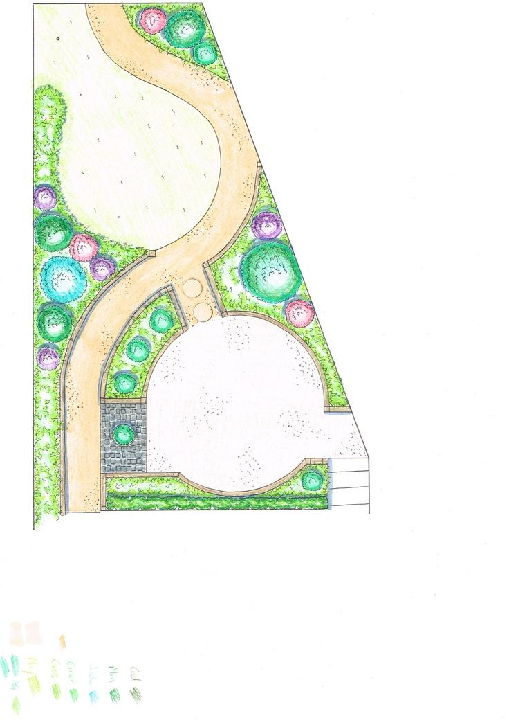 garden sketch idea base plan