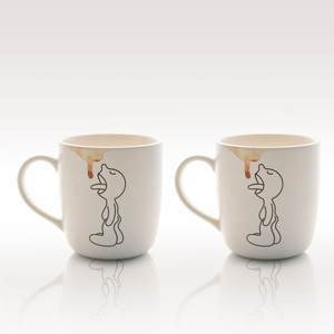 Lick Mug Set Of 2, 15,90€, now featured on Fab.