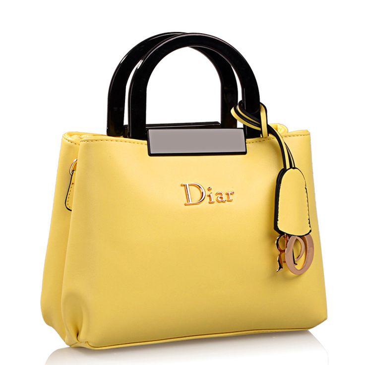Women Leather Handbags 2015 New Arrival Summer Fashion Bags Letters Pendant European And American Style Thread Handbag
