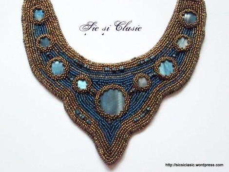 haute couture designer Adelina Maries http://sicsiclasic.wordpress.com Sic si Classic - beautiful handmade necklace