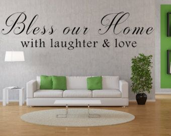 Best Family Wall Decals Images On Pinterest Family Wall - Custom vinyl wall decals sayings for living room