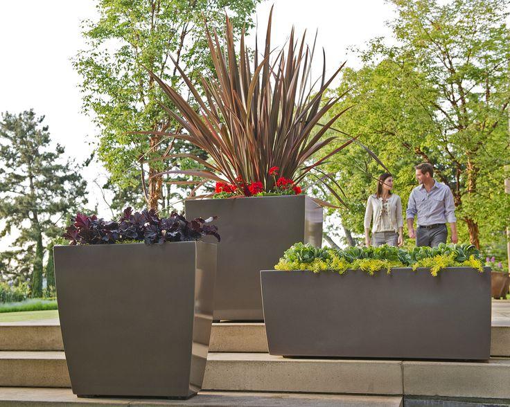 Sorella Planters #landscapeforms #sitefurniture #outdoorfurniture  #landscapearchitect
