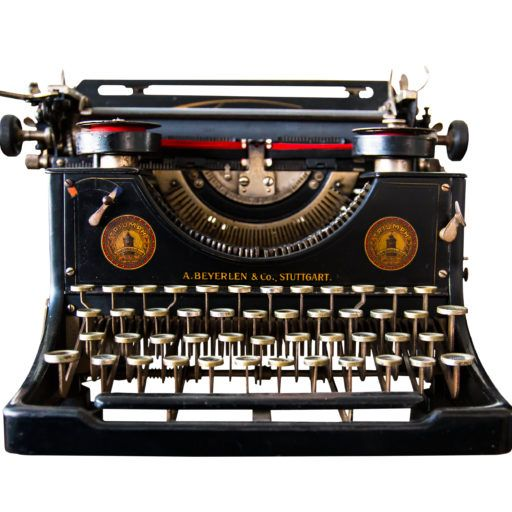 I absolutely love old typewriters!  In fact, I have one in my entryway sitting on the console table, and the kids and I type a dialogue back and forth to each other, asking about how our day was, how school was, what they are excited about that's coming up this week, etc.  Love it!  #typewriters