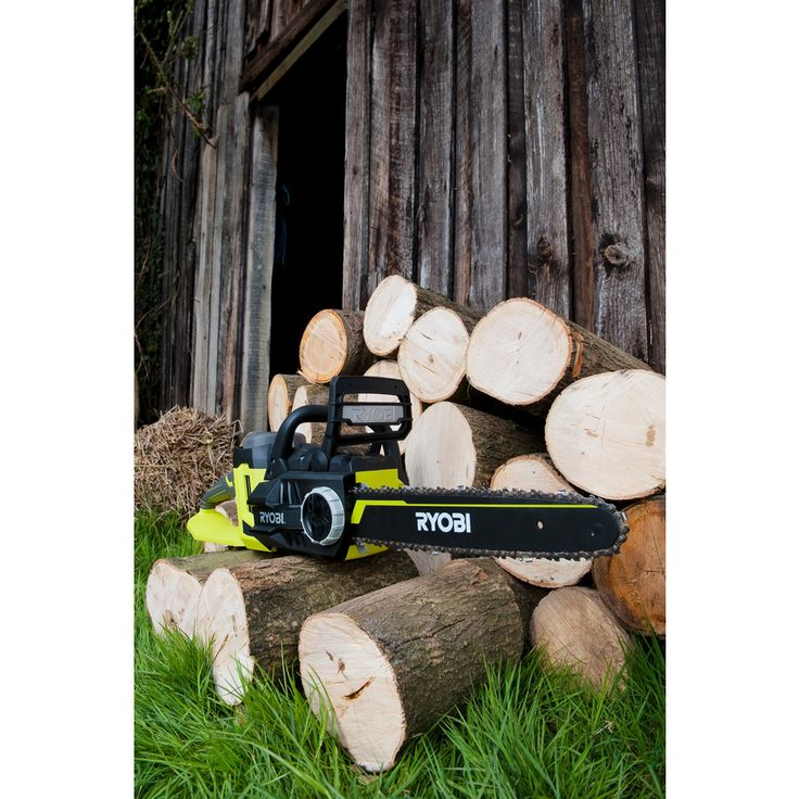 Cut your fire wood and trees with petrol power but with zero emissions, less noise and no messy oil spills. 36V Cordless Range from Ryobi - Chainsaw code: RCS36X3550HI