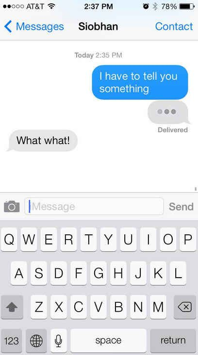 "The ""fake three dots"". You'll need the GIF from here . 