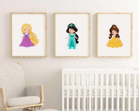 Set Of 6 Nursery Prints Animal