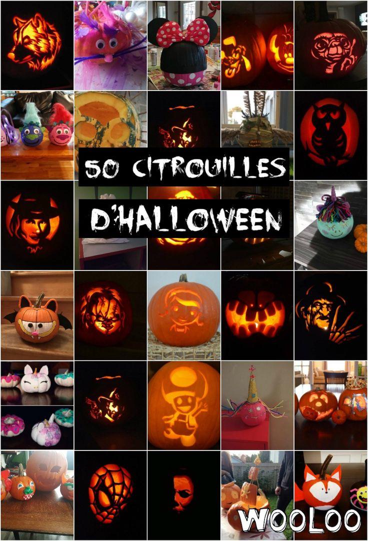 Les 50 plus belles citrouilles d'Halloween Citrouille