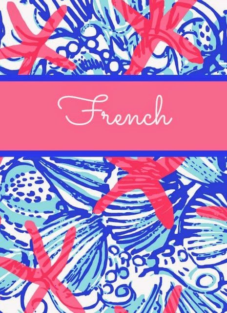 The Preppy Ballerina: Preppy Goes Back to School with Lilly, Again! Lilly Pulitzer Binder Covers 2014!