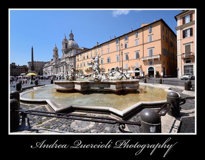 Piazza Navona  Fontana del Moro Roma Italy n 3 by andrea quercioli